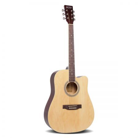 "41"" Steel-Stringed Acoustic Guitar - Natural"