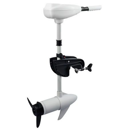 Marine 40lbs Electric Outboard Trolling Motor White