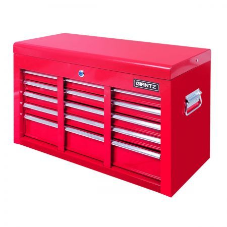 9 Drawers Tool Box Chest - Red