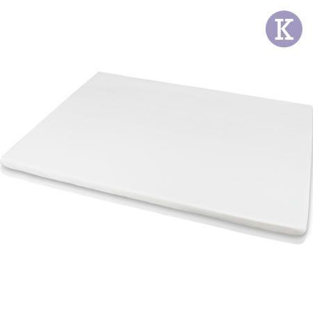 Visco Elastic Memory Foam Mattress Topper 7cm King Crazy Sales
