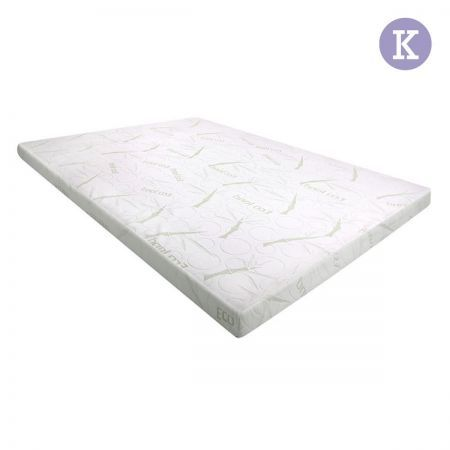 Cool Gel Memory Foam Mattress Topper With Bamboo Fabric