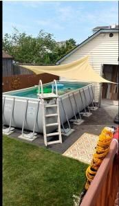 Perfect for adding shade over the pool
