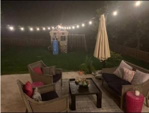 Beautiful outdoor lights