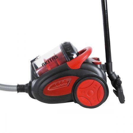 akitas pro 2400w bagless cyclone vacuum cleaner black