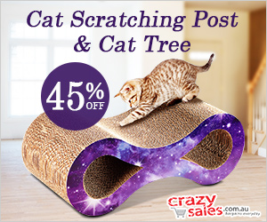 Cat Scratching Post & Cat Tree - Crazysales.com.au