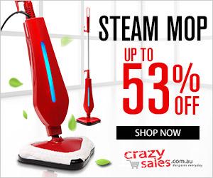 Steam Mop for Sale - Crazysales.com.au