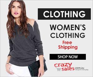 Cheap Clothing Online - Crazysales.com.au